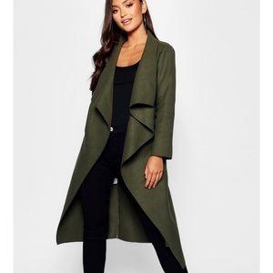 Jackets & Blazers - Petite waterfall shawl coat